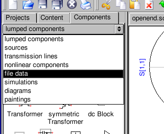 Component Pulldown